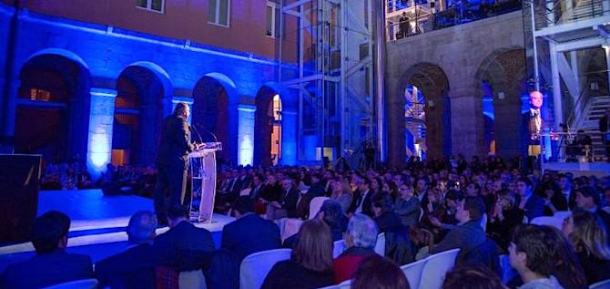 Un momento de la Noche Q 2018, celebrada en Madrid.