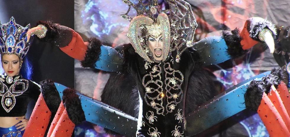 Resultado de imagen de drag queen mogan carnaval 2019