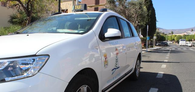 Los servicios de taxis de Agüimes se reducirán en un 80%