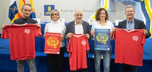 """El Cabildo de Gran Canaria invita a unirse al """"Club de los hombres no violentos"""""""