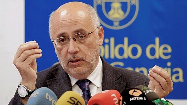 Resultado de imagen de El presidente del Cabildo de Gran Canaria, Antonio Morales