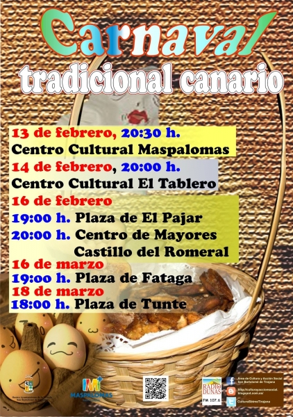 Resultado de imagen de San Fernando de Maspalomas conmemora este martes su Carnaval tradicional canario