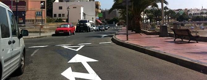 """Canarias - Noticias -  Tribuna del lector - Ciuca Mogán: La calle Miguel Marrero recupera la """"normalidad"""""""